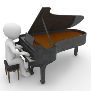 Miniature Pianist