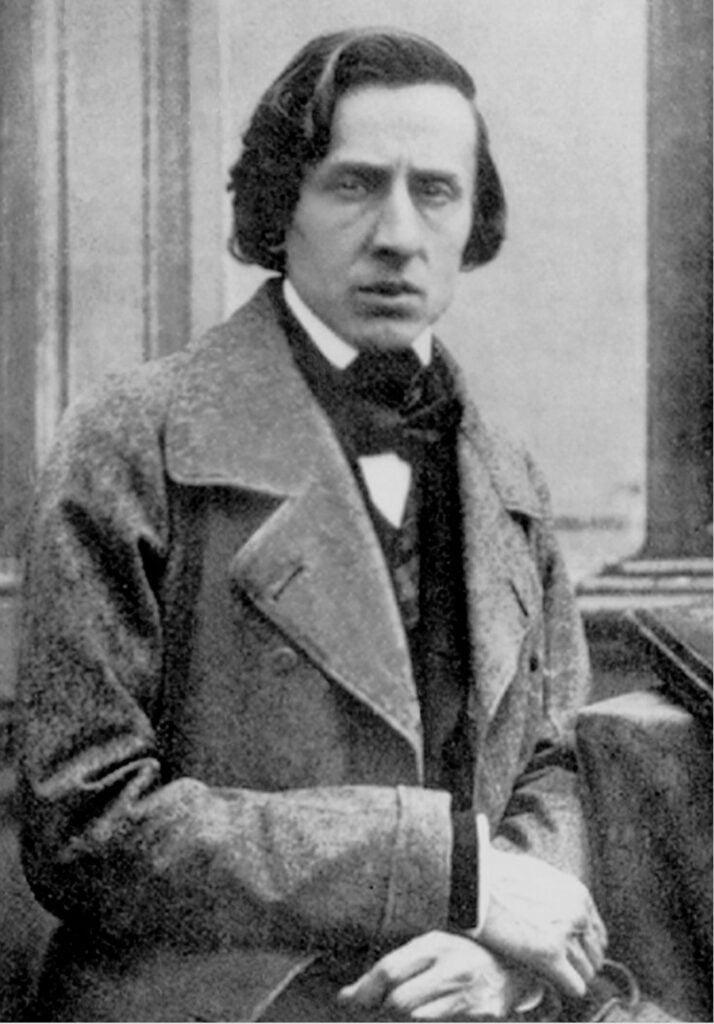 Daguerrotype of Frédéric Chopin
